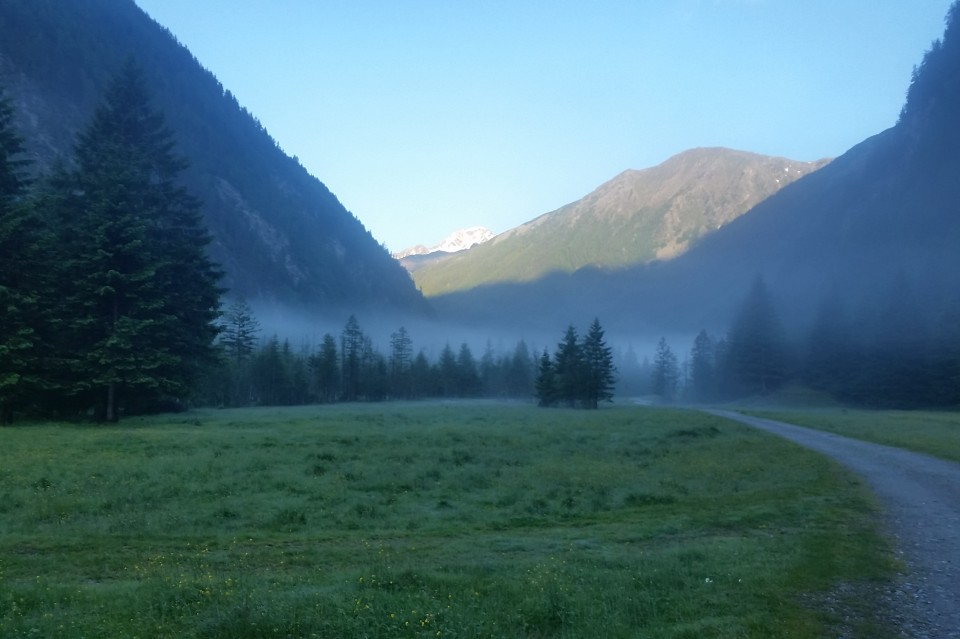 Seebachtal Morgenstimmung