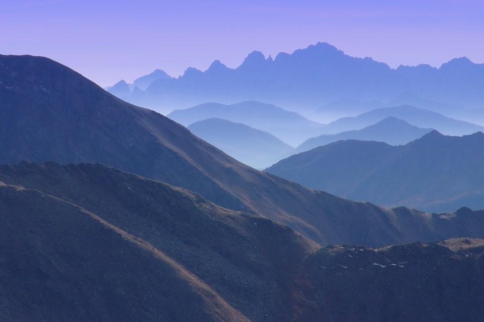 Blick von Gamskarlspitze nach Süden