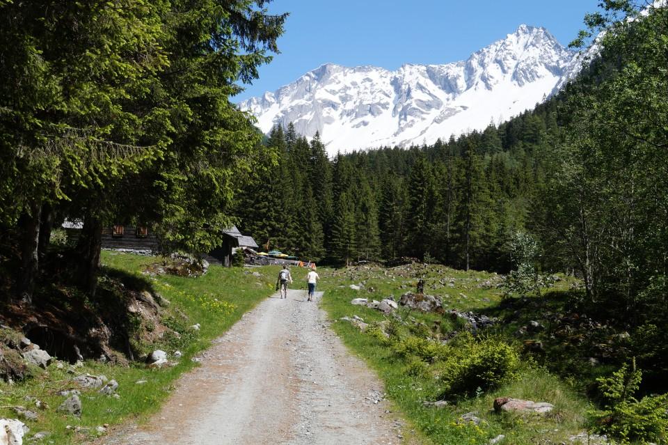 Seebachtal kurz vor der Schwussnerhütte