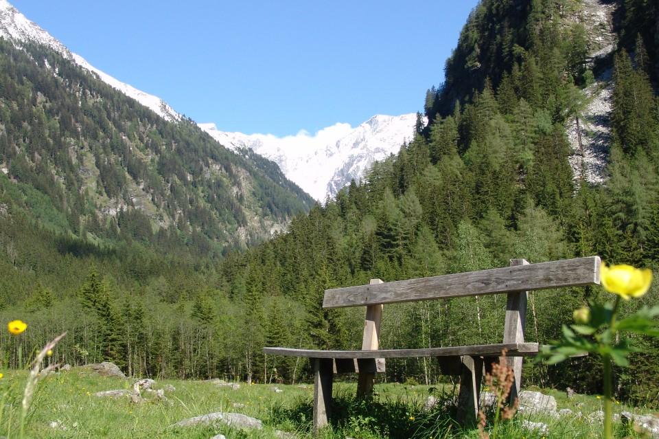 Rastgelegenheit im Seebachtal